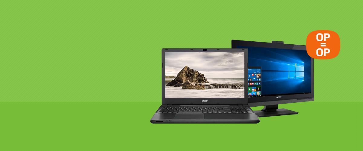 Pak uw voordeel met Acer deals