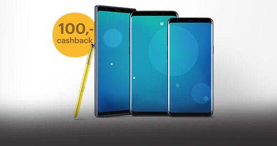 Samsung Galaxy S9 en Note 9