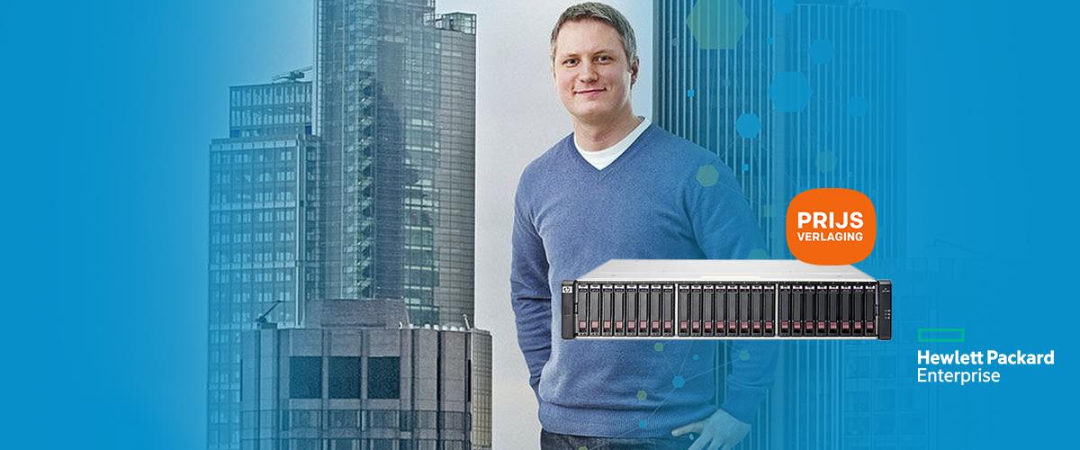 Hewlett Packard Enterprise Prijsverlaging