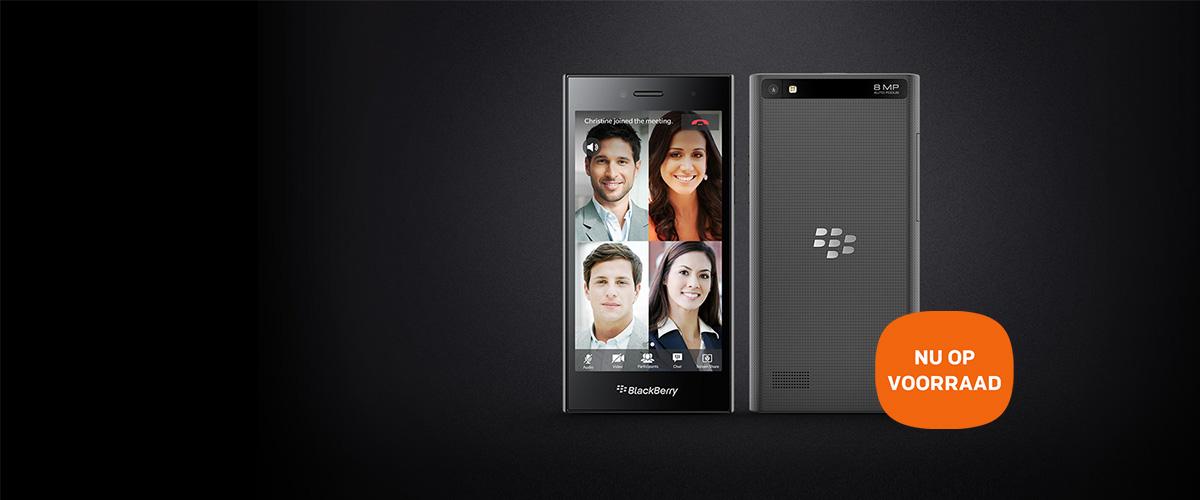 BlackBerry introduceert de nieuwe Leap