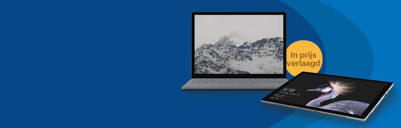 Microsoft laptop en Surface Pro prijsverlaging