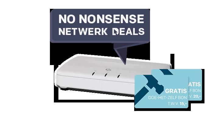 Nu GRATIS Praxis bon bij HP Switches en Acces Points