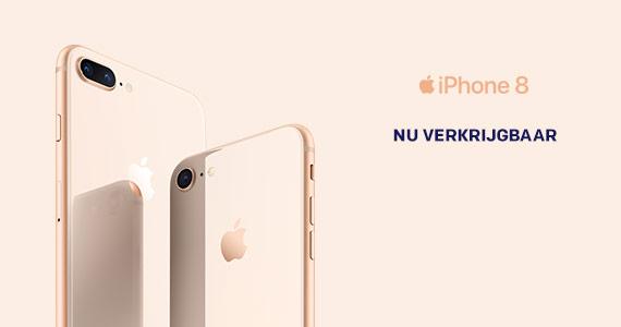 Nu verkrijgbaar: Apple iPhone 8 en 8 Plus