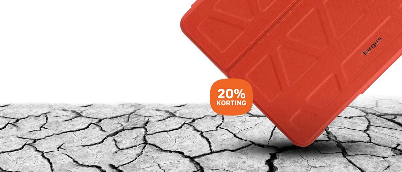 20% korting op Targus iPad cases