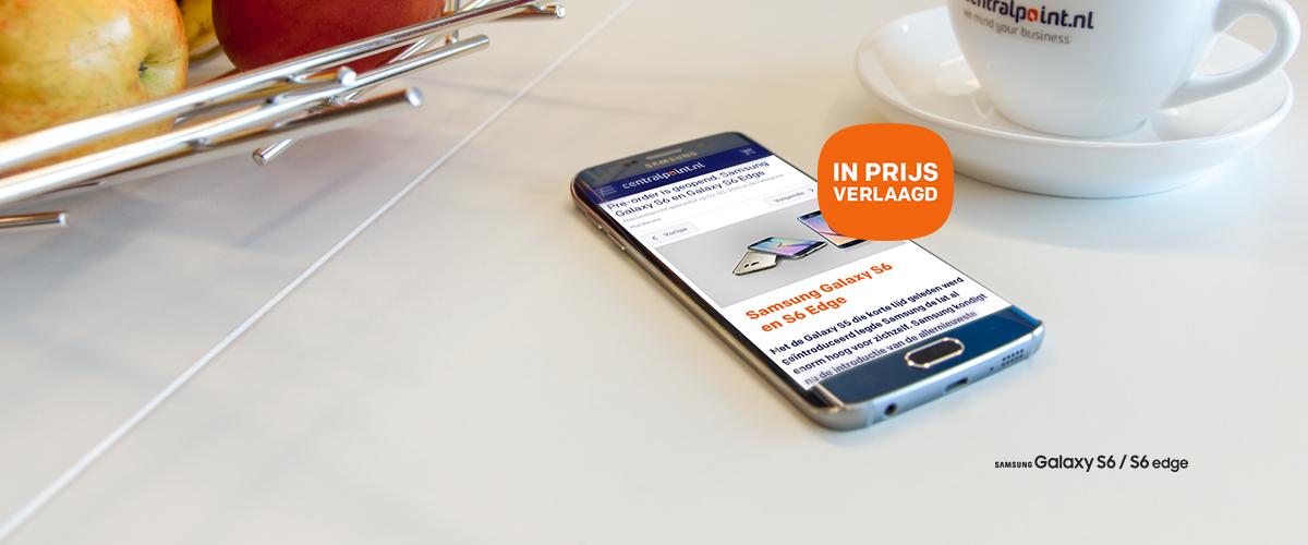Prijsverlaging Samsung Galaxy S6 en S6 Edge
