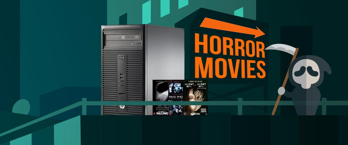 GRATIS Scary Movies bij HP pc's