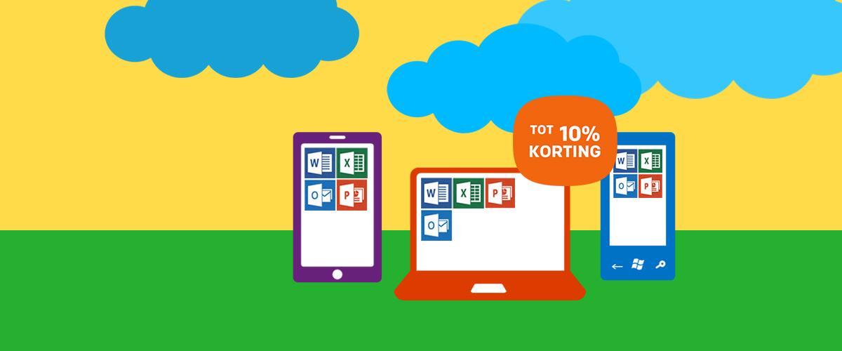 Tot 5% korting op Microsoft licenties
