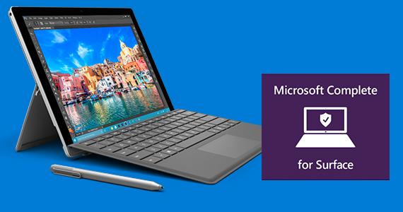Microsoft Surface pro 4 voordeelbundel