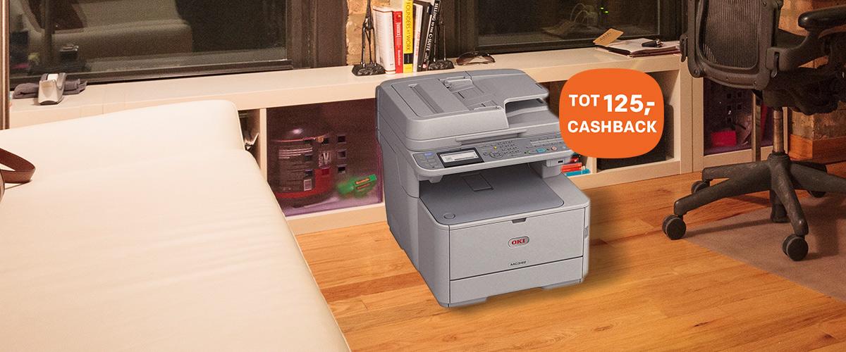 Cashback op OKI MFP printers