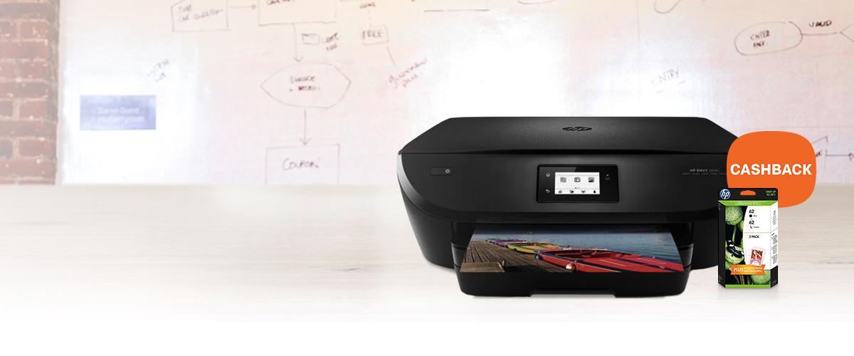 Tot 45,- cashback op HP ENVY All-in-One printers