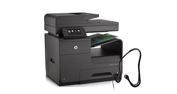 Gratis Running in-ear oordopjes bij HP printers