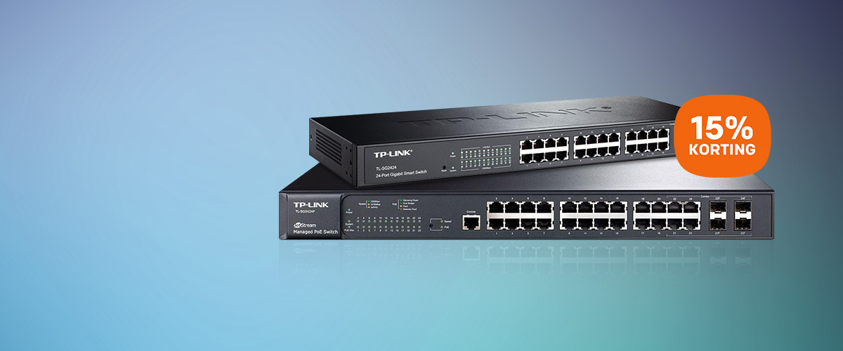 TP-LINK netwerkswitches