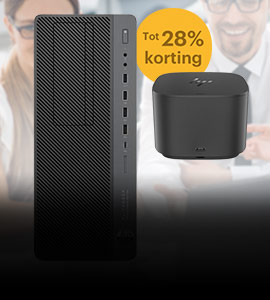 Tot 28% korting op HP workstations