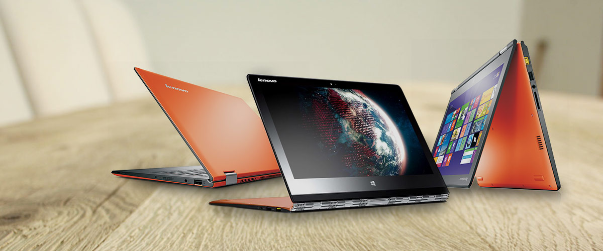 De Lenovo IdeaPad Yoga 3 Orange is nu op voorraad