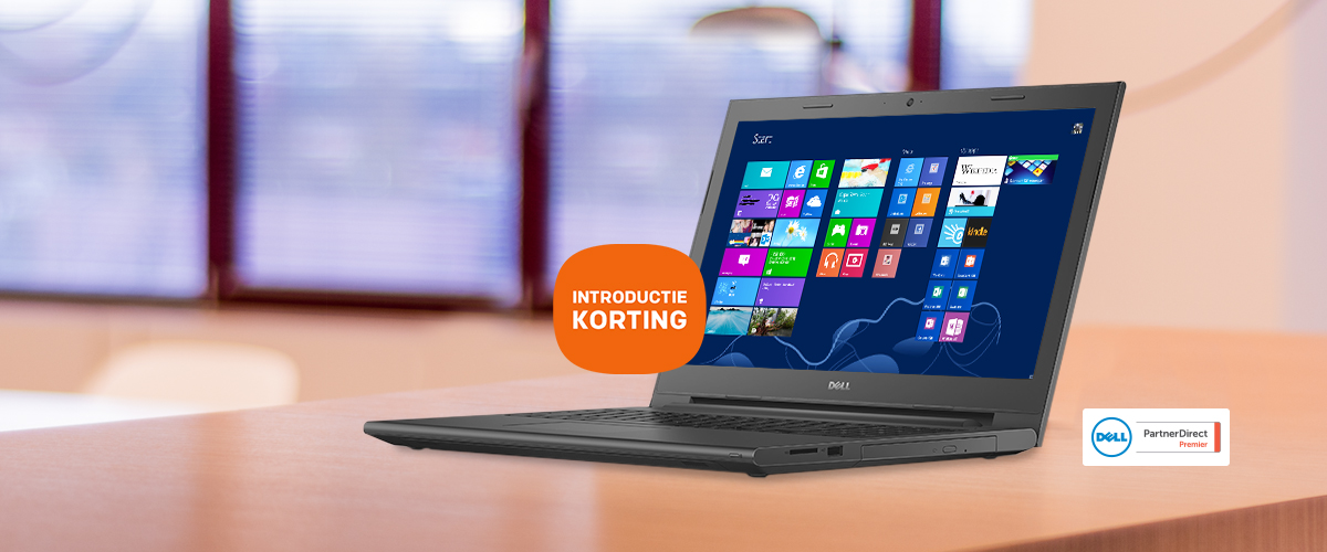 Introductiekorting op Dell Vostro 15 3000 serie