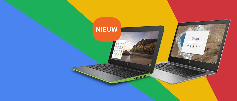 De nieuwe HP Chromebooks voor het onderwijs en bedrijfsleven