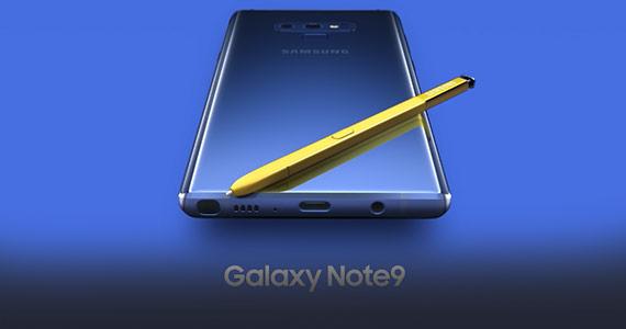 De nieuwe zakelijke Samsung Galaxy Note9