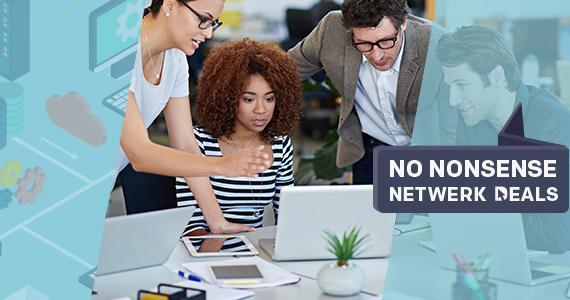Hoge korting op netwerkproducten