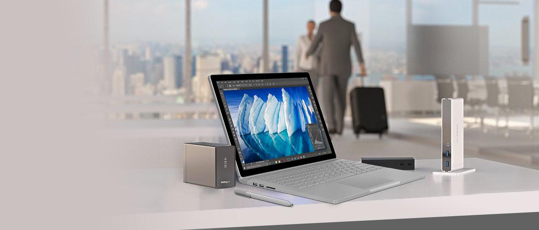StarTech.com accessoires voor uw Surface Book