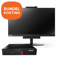Lenovo 24'' Tiny-in-One monitor + ThinkCentre M710q Tiny