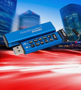 Kingston veilige USB-sticks