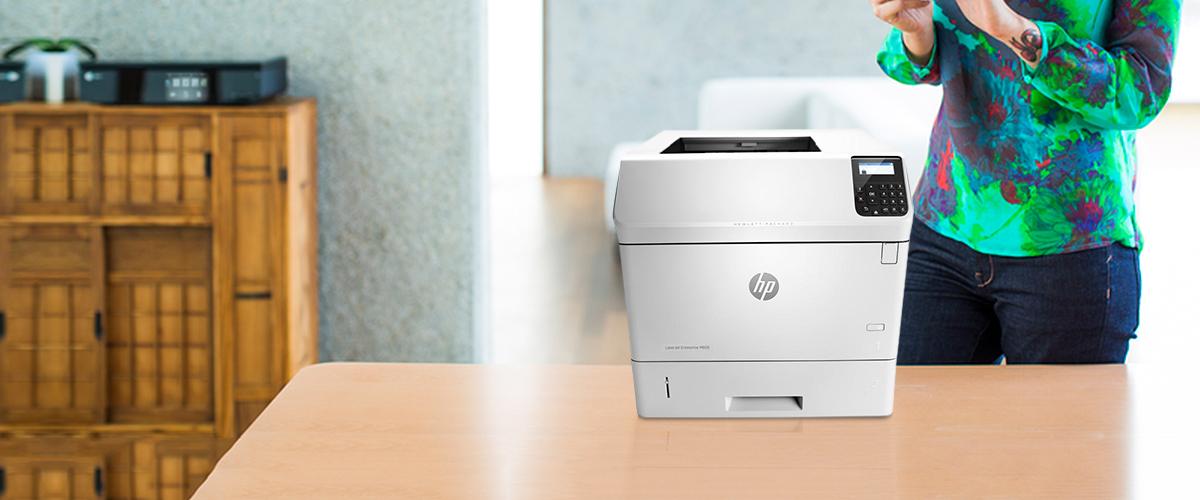 De HP LaserJet Enterprise printers