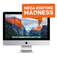 Apple iMac en MacBook Mega Madness korting