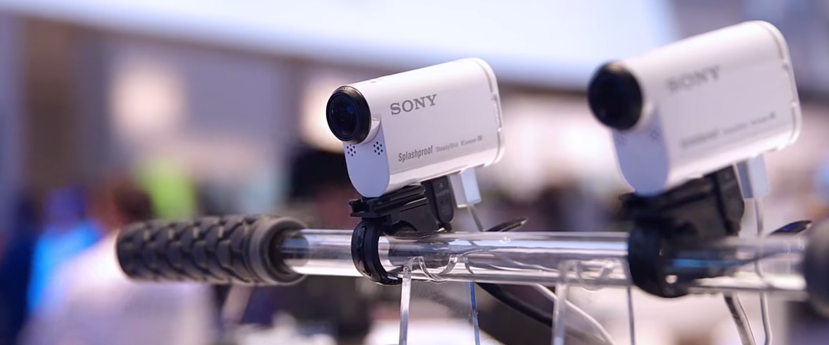Nieuwe verbluffende Sony video camera's