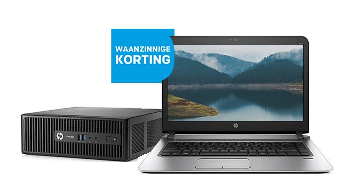 Spectaculaire HP desktops en notebooks in prijs verlaagd