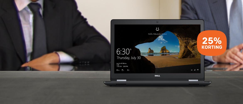 Dell Latitude E5570 - een krachtige en sexy laptop voor de zakelijke werknemer