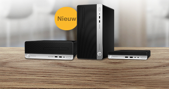 Nieuw: HP ProDesk 600 G5-serie