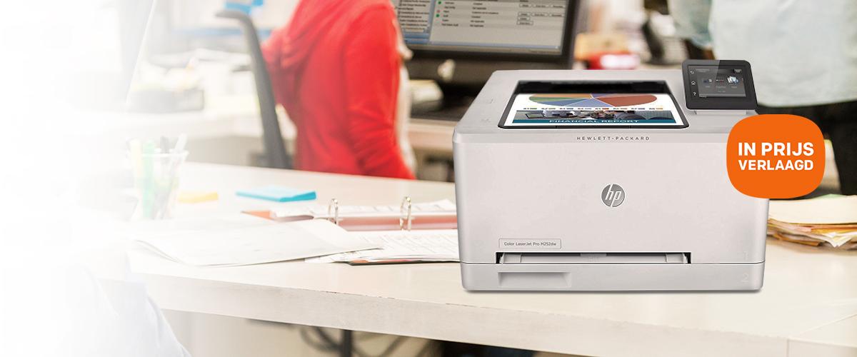 HP LaserJet printers nu in prijs verlaagd