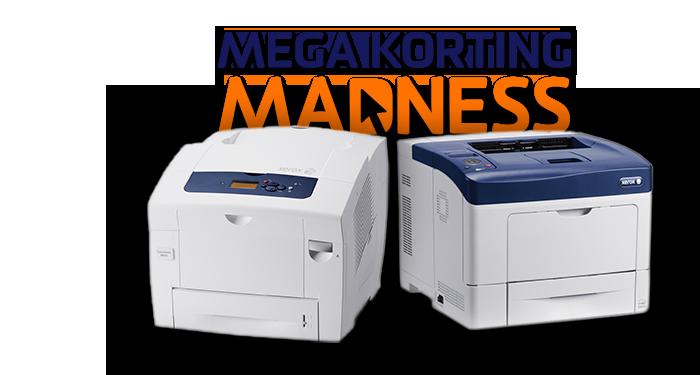 Scoor in de verlenging een Xerox printer