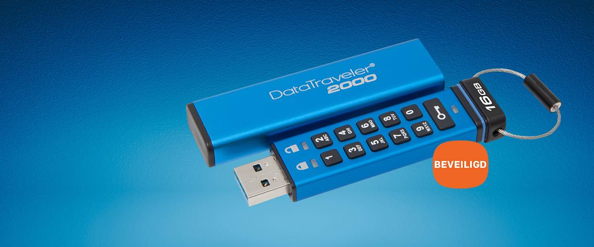 Nieuwe Kingston DataTraveler USB's