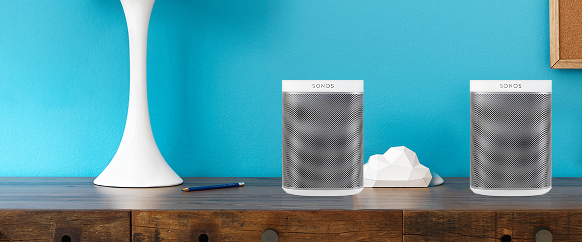 Bundelkorting op Sonos Play:1 speakers
