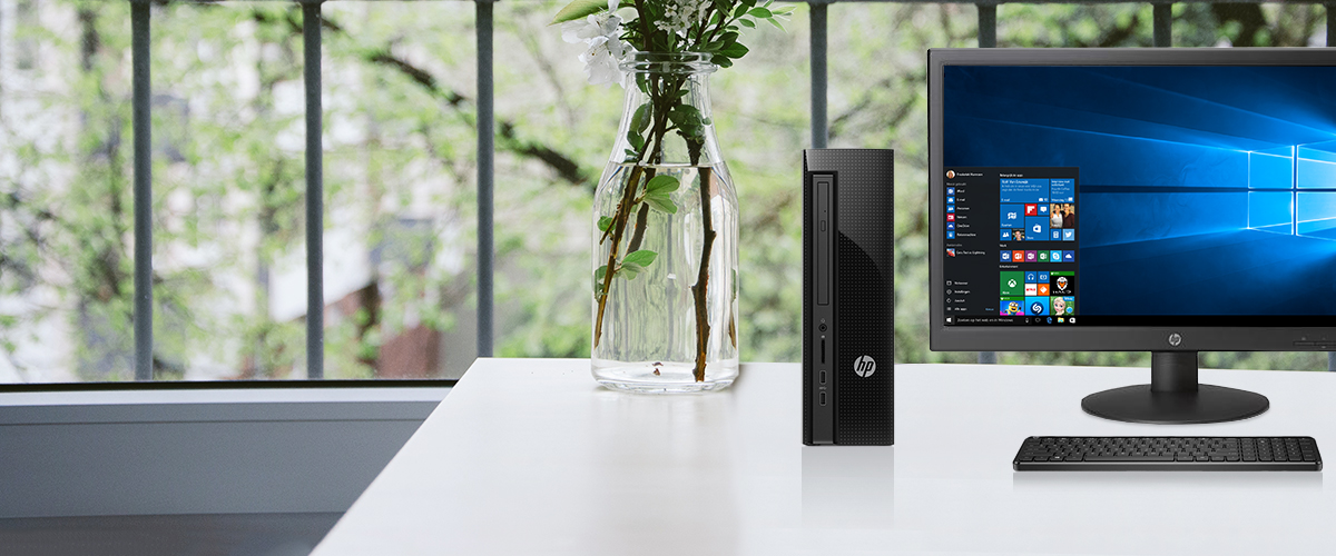 HP Slimline desktop tower