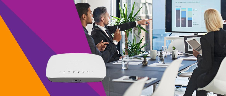 Snel wifi-netwerk met NETGEAR WAC510 Acces Point