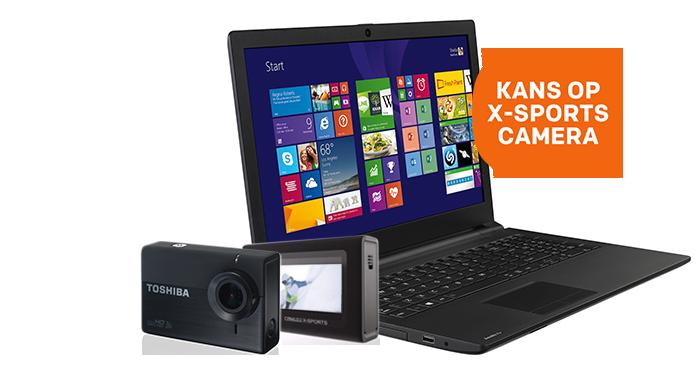 Win een Camileo X-Sports camera
