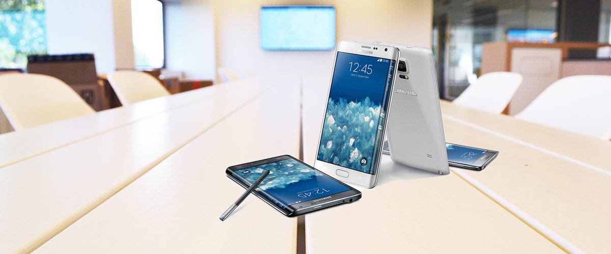 NU op voorraad de Samsung Note Edge