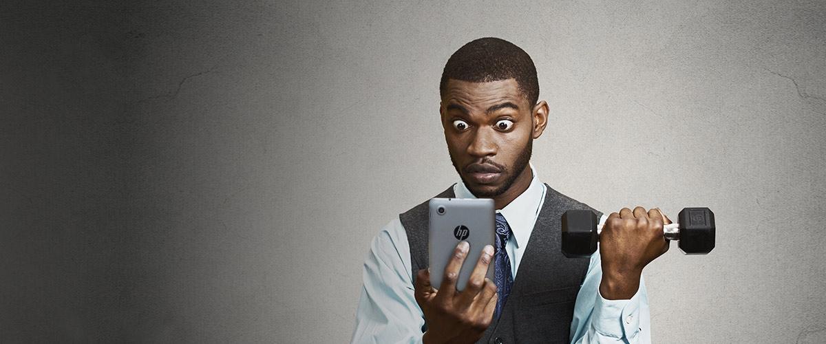 Uw bedrijf en u in topconditie met HP