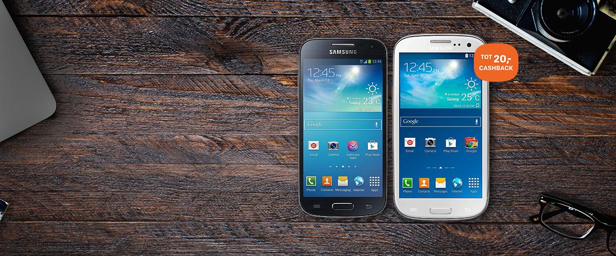 Samsung retour actie