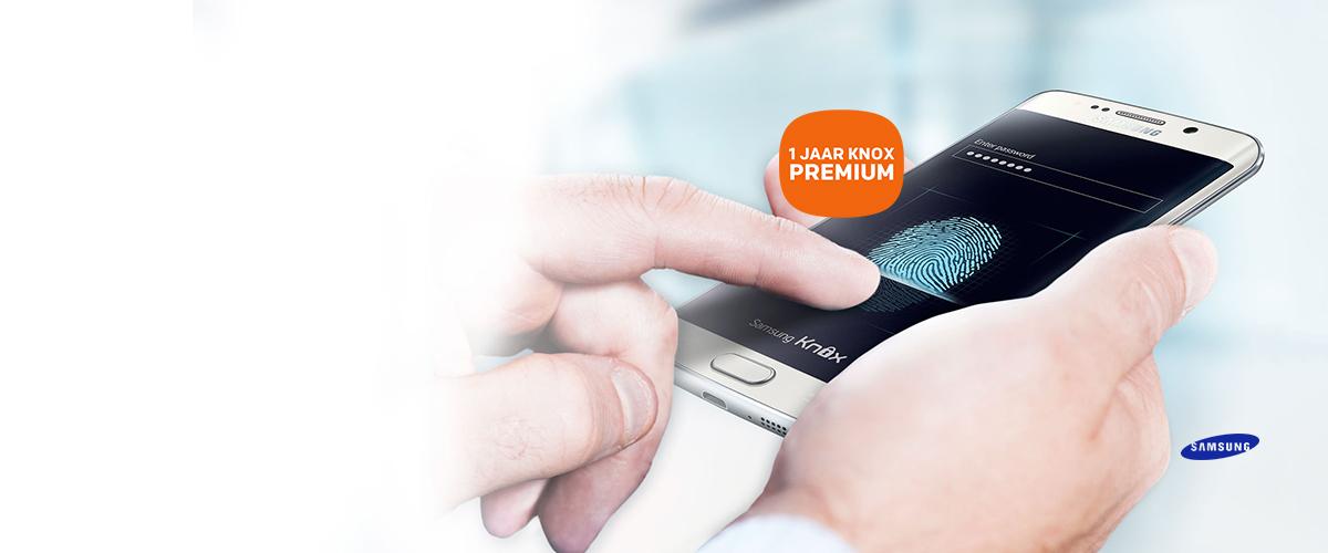 GRATIS 1 jaar KNOX Premium bij Galaxy S6