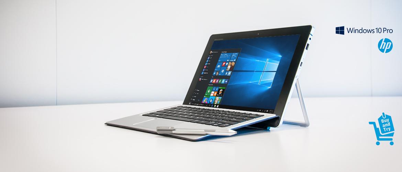 Buy and Try nu 30 dagen de HP Elite x2 1012 2-in-1 notebook