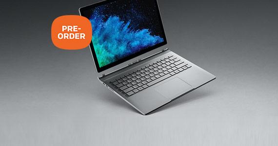 Pre-order de nieuwe Microsoft Surface Book 2