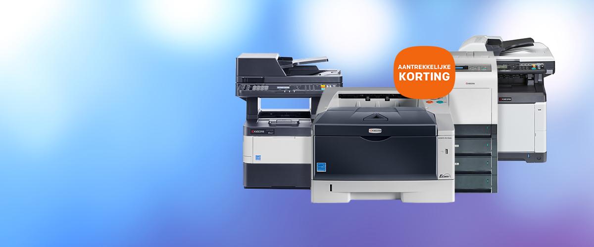 Korting op printers en multifunctionals van KYOCERA