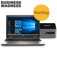 Laptops & PC's met hoge korting