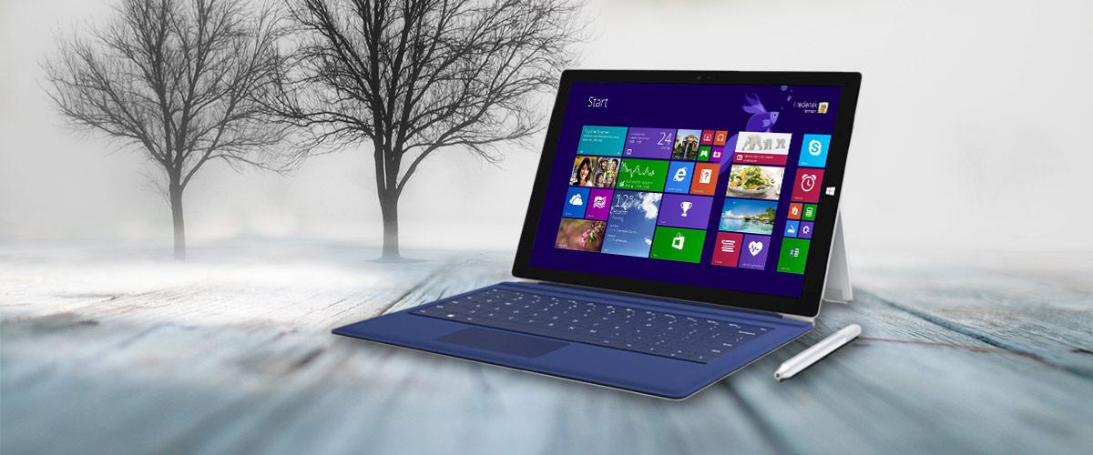 De Microsoft Surface Pro 3 nu op voorraad