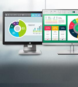 HP top vijf monitoren in elk formaat