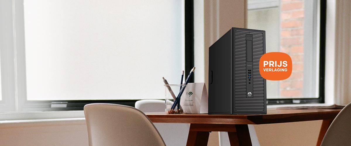 De HP Pro desktop 600 G1 nu  tijdelijk in prijs verlaagd