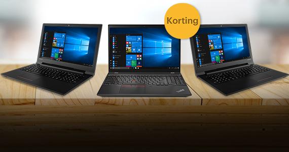 Profiteer in de herfst van extra scherp geprijsde Lenovo laptops